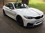 2016 BMW M4 Alpine white carbon fiber roof carbon fiber mirrors and sp